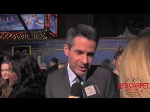 Simon Kinberg, producer, at the World Premiere of Disney's Cinderella #ElCapitan Theatre #Cinderella