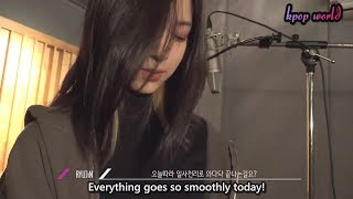 [ENG SUB] [ITZY? ITZY!] EP1. At The Recording Studio