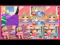 Pregnant Babrie Games-Dulce embarazada Barbie Juegos de la película Recopilación Aprender y Jugar