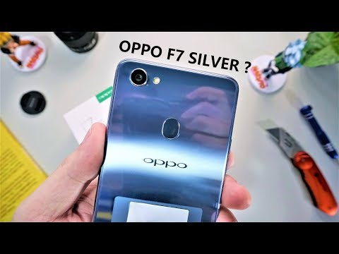 OPPO F7 WARNA SILVER ?! - Unboxing Oppo F7 Indonesia