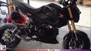 Honda msx 125 | MSX 125 modified