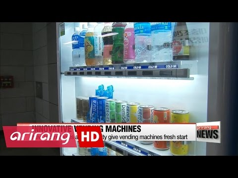 Vending machines get fresh start with high technology and unique ideas