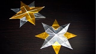 Christmas Origami - Christmas Tree Star