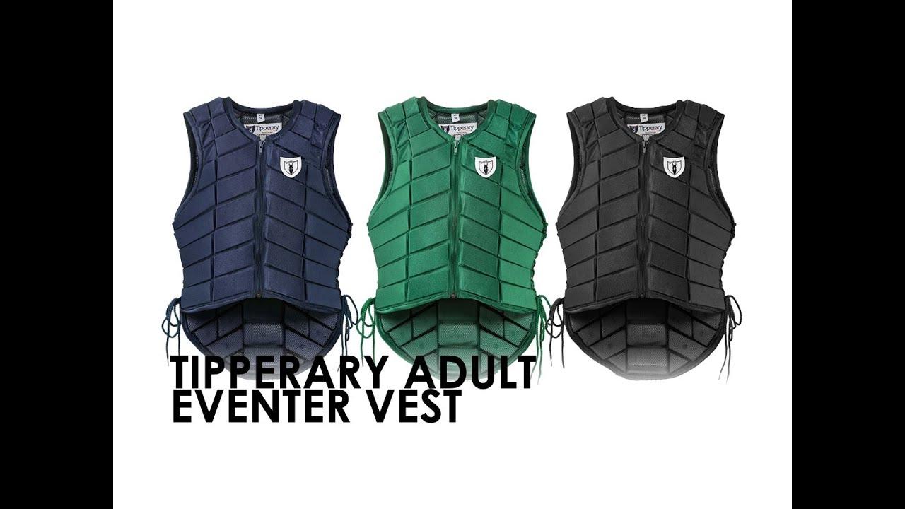 Eventer Safety Vest Tipperary Adult Eventer Vest