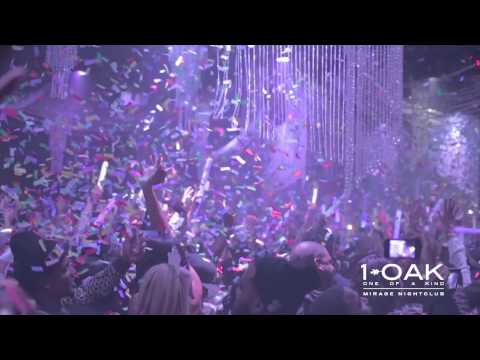 J. Cole Celebrates New Year's Eve 2014 at 1 OAK Nightclub
