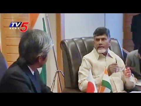 Chandrababu Met with Isuzu Motors Representatives : TV5 News