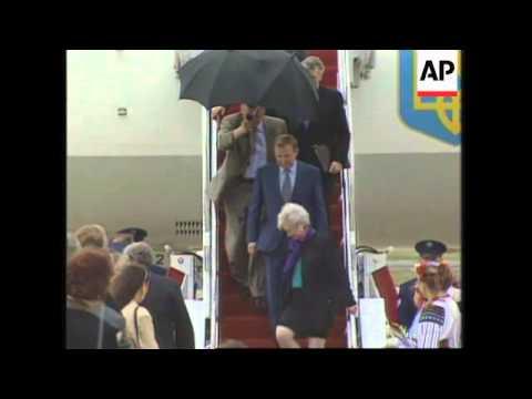 USA: UKRAINIAN PRESIDENT LEONID KUCHMA VISIT