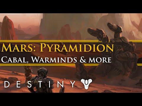 Destiny - New Mars Pyramidion area? Cabal expansion, Warminds and E3