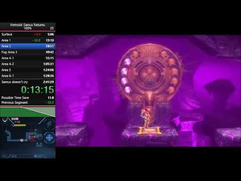 Samus Returns 100% - 2:16:03 IGT