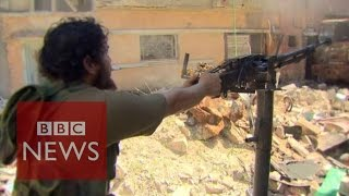 Libya: Face to face with jihadists - BBC News