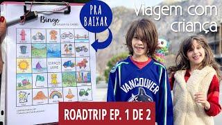 Viagem de carro com criança | Bingo pra baixar | The Kootenays Ep. 1 de 2