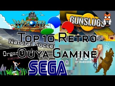 Top 10 Retro Games on Ouya