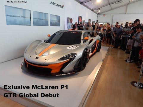 McLaren P1 GTR World Debut