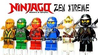 LEGO Ninjago Zen Xtreme KnockOff Minifigures Set 28 (DeCool) w/ Golden Ninja