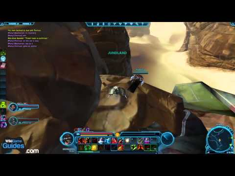 SWTOR Datacron Locations - Tatooine (Empire) (Cunning +3. Willpower +3. Aim +3. Strength +3 & Blue Matrix Shard)