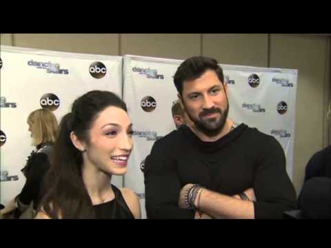Maks and Meryl - Preseason On the Red Carpet Interview