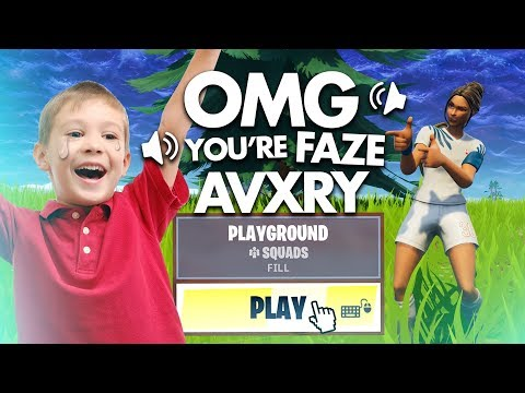 I made a kid cry in Fortnite