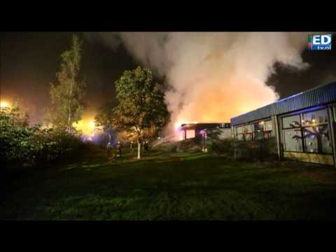 Grote brand verwoest deel basisschool Breugel