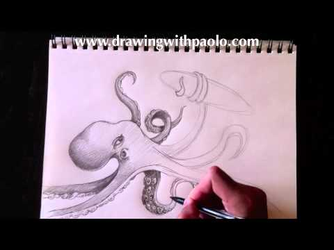 Dessiner un monstre marin avec paolo morrone youtube - Tete de monstre a dessiner ...