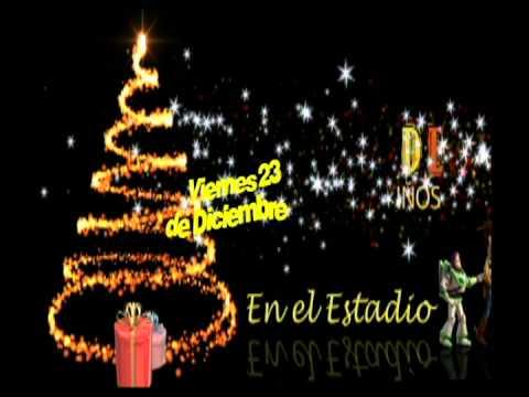campaa navidea unitel en el estadio felix capriles