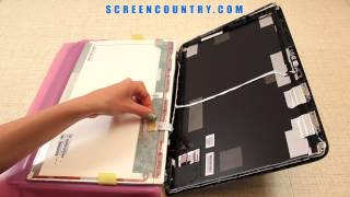 How To Change a Display on HP Pavilion DV7 Laptop Video Tutorial