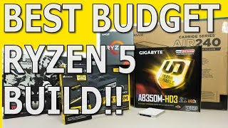 Budget Ryzen 5 Build - Micro ATX $700 Ryzen Build
