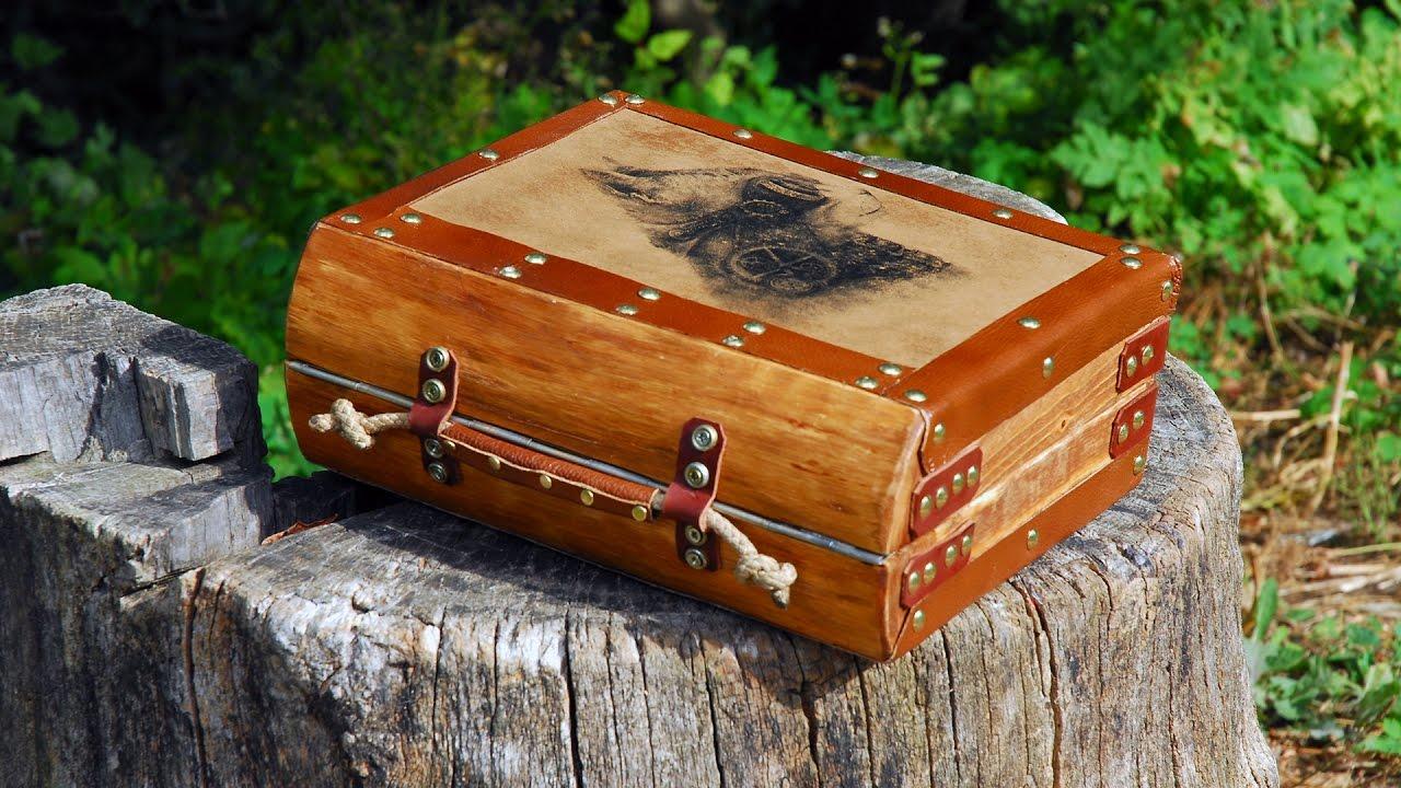 Самодельный подарок из дерева