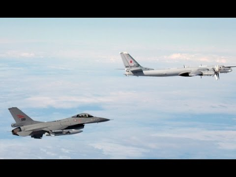 World War 3 : NATO intercepts 4 groups of Russian Nuclear Bombers over Europe (Oct 31, 2014)