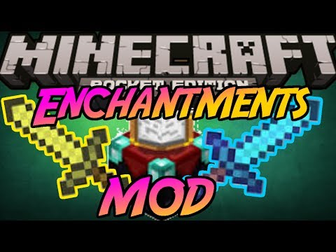 Enchantmets MOD Minecraft Pocket Edition 0.8.1 Enchants Any Sword