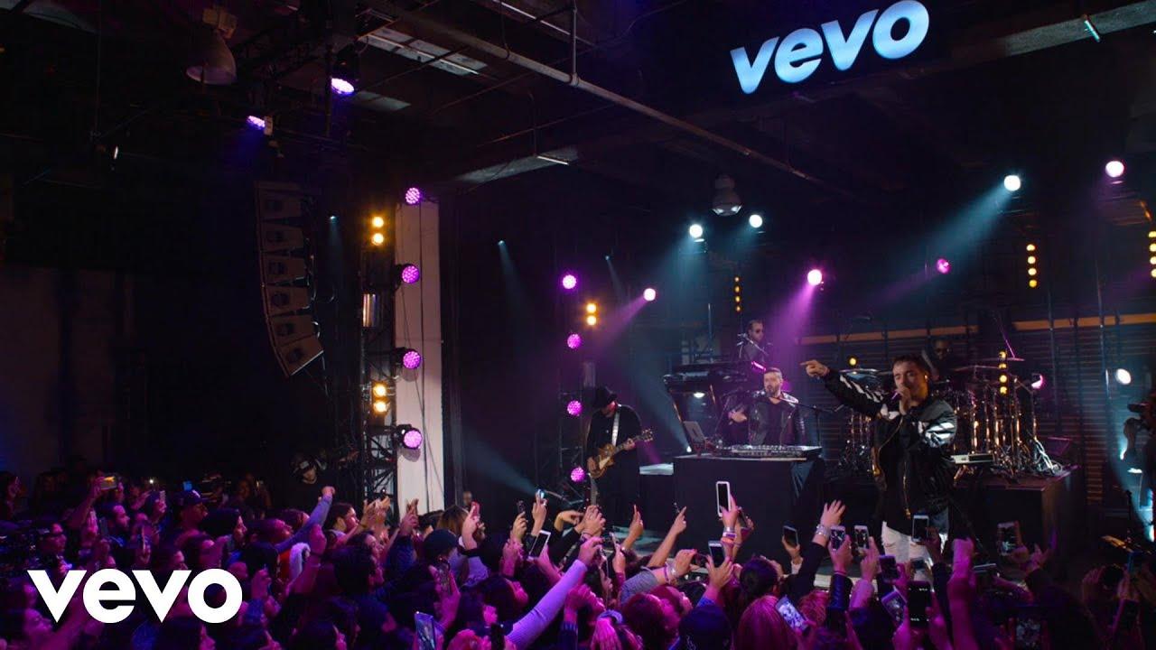J Balvin - Yo Te Lo Dije (Live at The Year In Vevo)