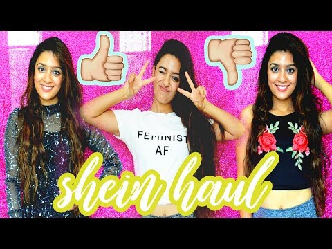 SHEIN TRY-ON HAUL + HOW TO CHOOSE THE RIGHT SIZE + FAQS | Meghna Verghese