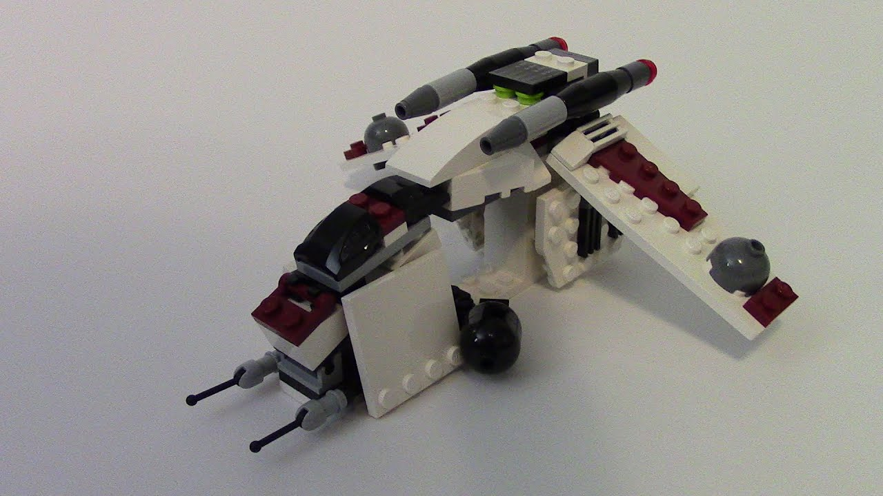 Lego Star Wars Mini Republic Gunship Mini Republic Gunship | Lego