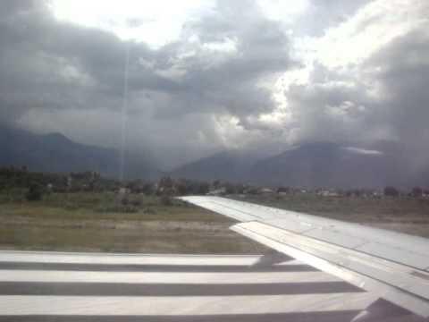 Take Off bandara Mutiara Palu