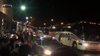 Clemson Tigers Football Team Returns Home After National Championship Game