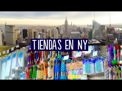 Tiendas Crafty de Nueva York + HAUL + Sorteo?