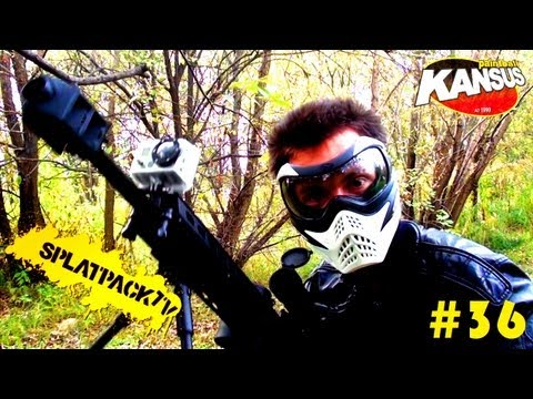 Tippmann A5 M107 Barret Sniper OpsGear Mod Test (SplatPackTV - program o Paintballu) #36