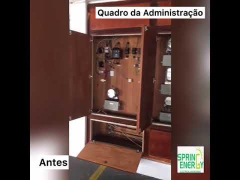 EDIFÍCIO AQUARIUS - ADEQUAÇÃO ELÉTRICA - SPRING ENERGY