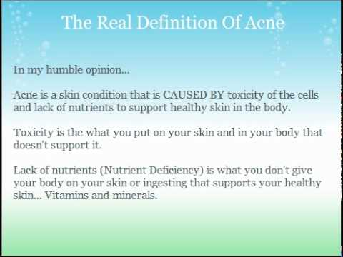 """What is """"Acne"""" Really?"""