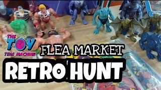 VINTAGE TOY HUNT #1 FLEA MARKET : THE TOY TIME MACHINE S01E01