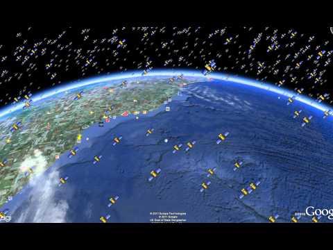 Satélites em órbita da Terra