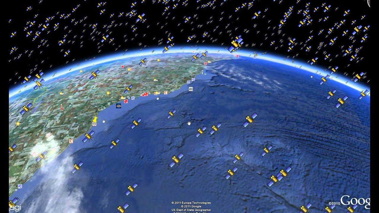 Veja todos os satélites e objetos em volta da Terra… Site estilo Google Earth