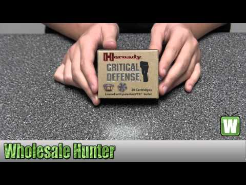 Hornady 45 Automatic Colt Pistol Critical Defense 185 Gr 90900 Shooting Gaming Unboxing