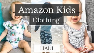 Amazon Kids Clothing Haul 2018
