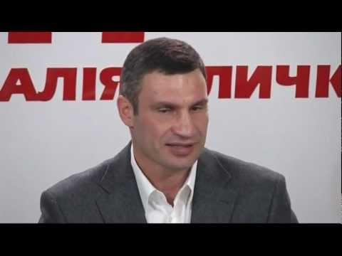 Boxing champion Vitali Klitschko's UDAR party comes third in Ukraine election