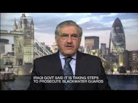Inside Story - Iraq vows to fight blackwater ruling - 3 Jan 2009