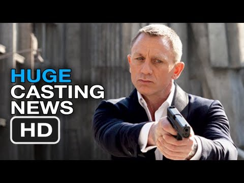 James Bond Films - Huge Casting News (2013) Daniel Craig Movie Hd video