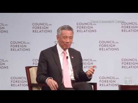 On Shanghai's prospects as a financial centre for the region: PM Lee