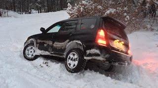 Subaru Forester Off Roading - Snow Hooning January 2015