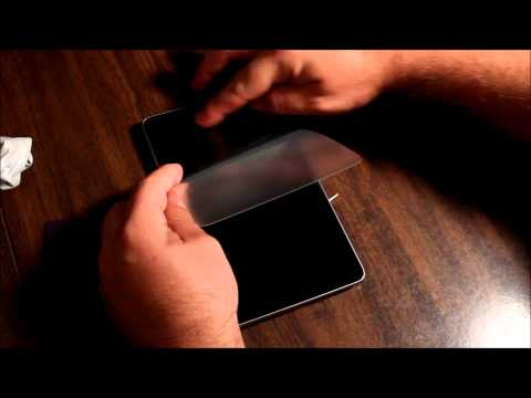 Steinheil SGP Screen Protector Review - Google Nexus 7 Tablet