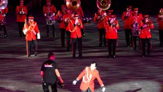 Basel Tattoo 2015 New Zealand Army Band, Neuseeland